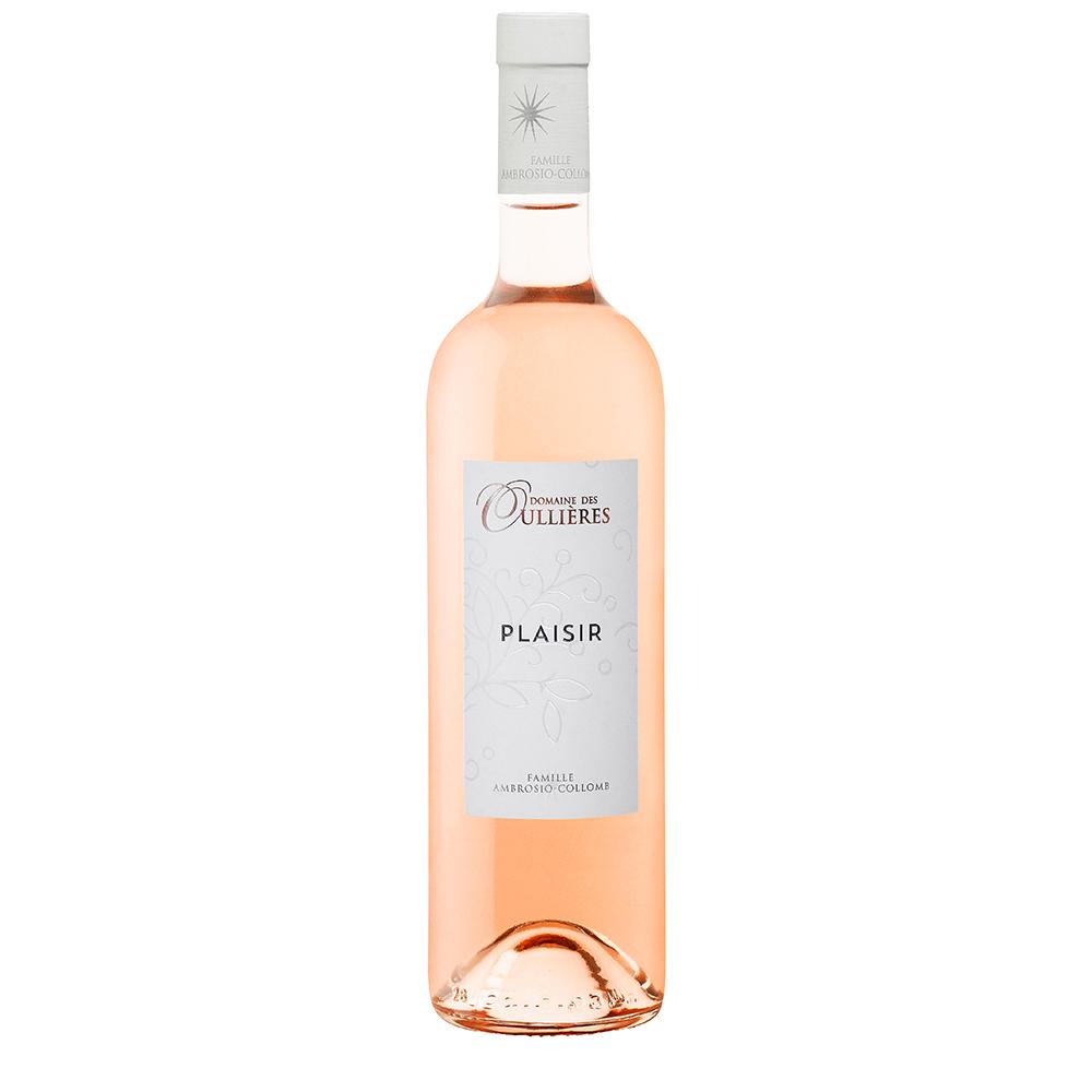 Plaisir Rosé du Domaine des Oullières, IGP Vin de Pays des Bouches du Rhône