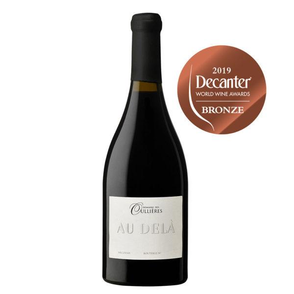 elevage-vins-couleur-bouteille-vin-Cuvee-Au-Dela-red-wine-Rouge -Coteaux-Provence