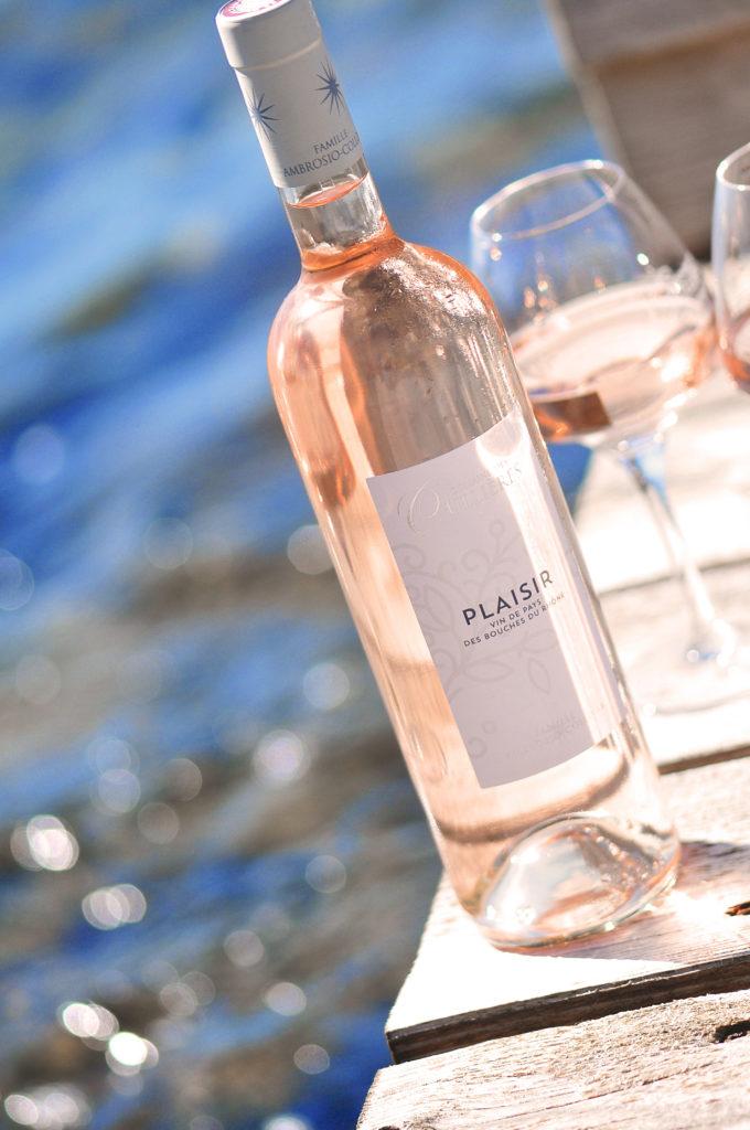 un bon rosé de Provence IGP Pays des Bouches du Rhône