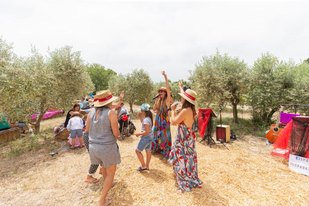 Pique nique chez le vigneron à lambesc aix en provence coteaux vin
